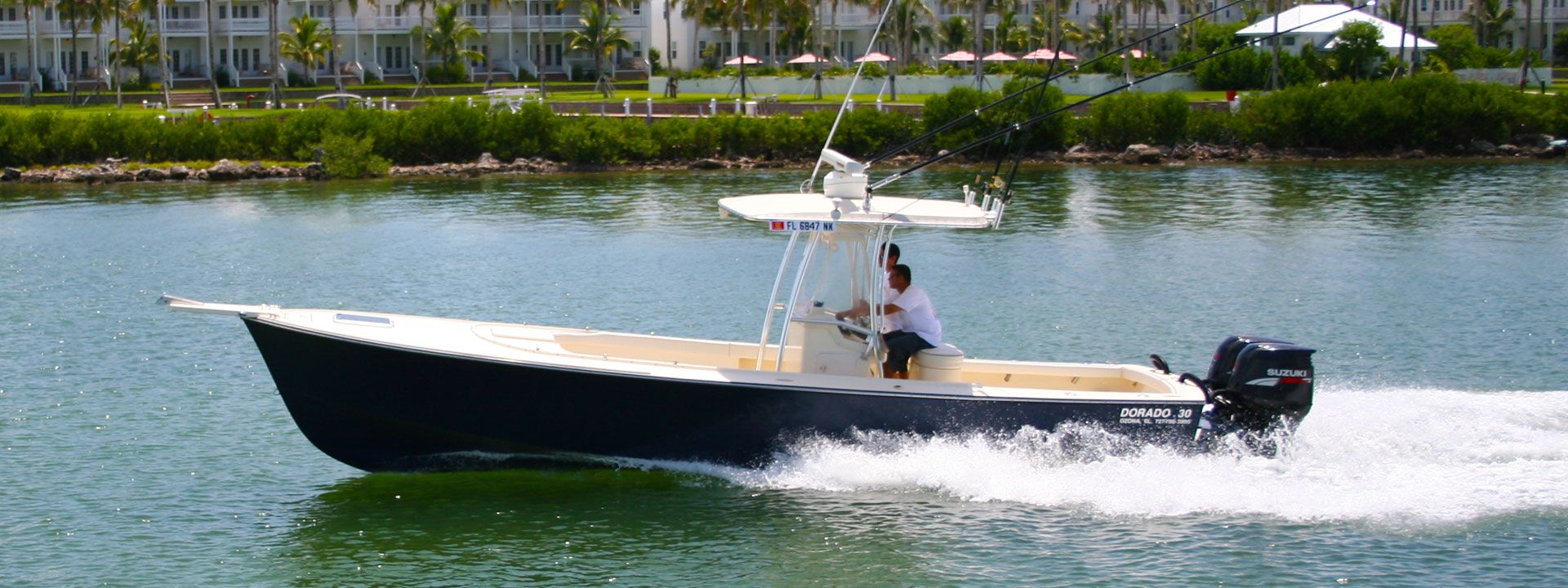 Dorado custom fishing boats boats for sale build your for Build fishing boat
