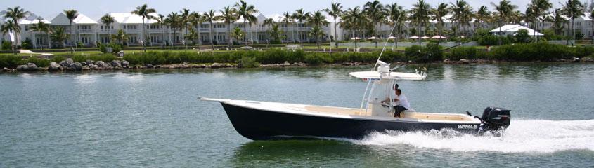 Dorado boats 25 images for Custom fishing boats
